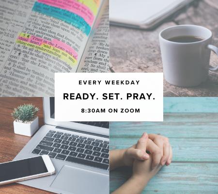 Ready Set Pray Web